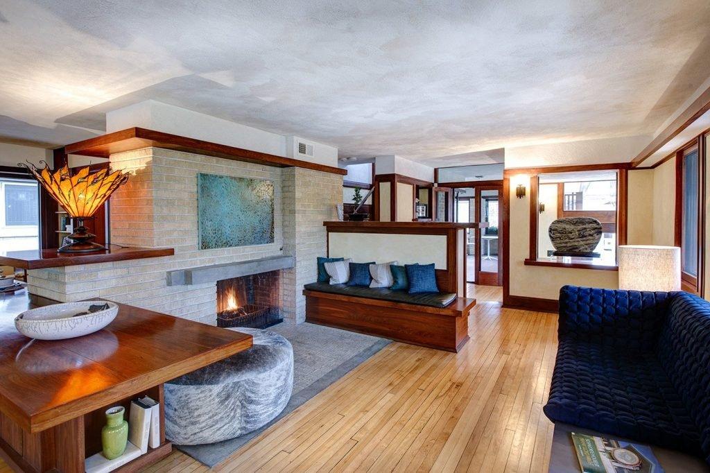 Frank Lloyd Wright Emil Bach House