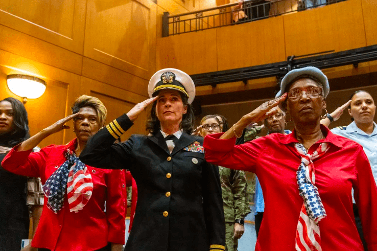 Operation HerStory first all female Honor Flight