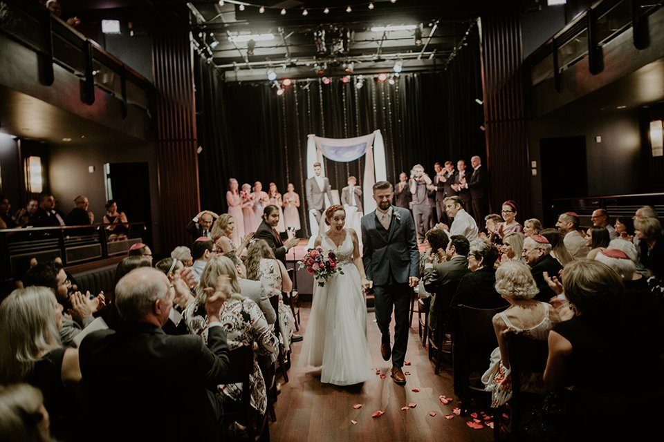 Wedding Ceremony at Mayne Stage